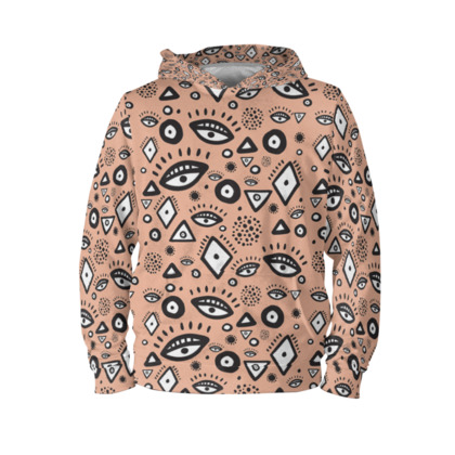 Tribal abstract pattern - Hoodie