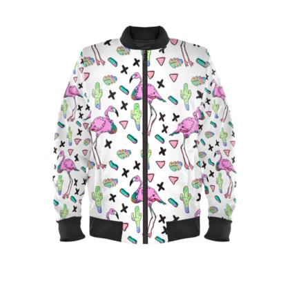 Tropical Flamingo - Bomber Jacket