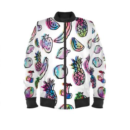 Fruit Splash - Bomber Jacket