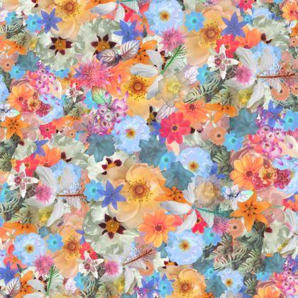 Secret Garden Floral Tote Bag