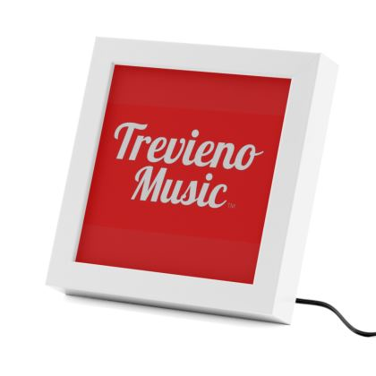 Trevieno Music Logo LED Frame