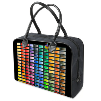 Colour Chart Weekender Bag