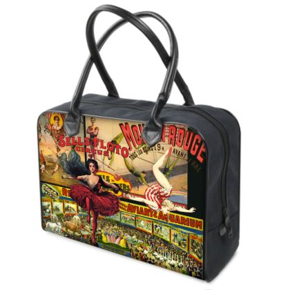 The Circus is in Town Weekender Bag