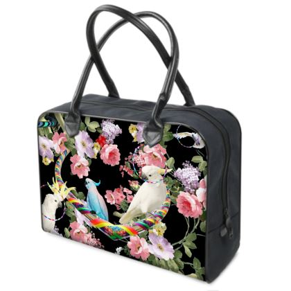 Cockatoos and Hoops Weekender Bag