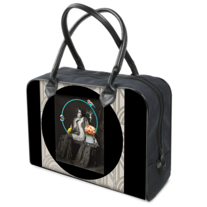 The Hoop Fairy and the Clown Canary Weekender Bag