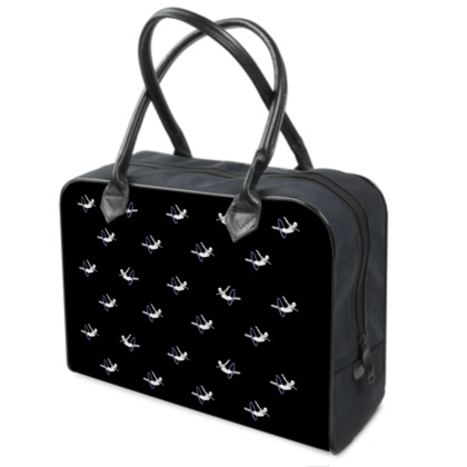 Hoop Diving Black Weekender Bag