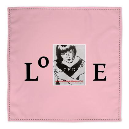 CHD girl logo pink Bandana