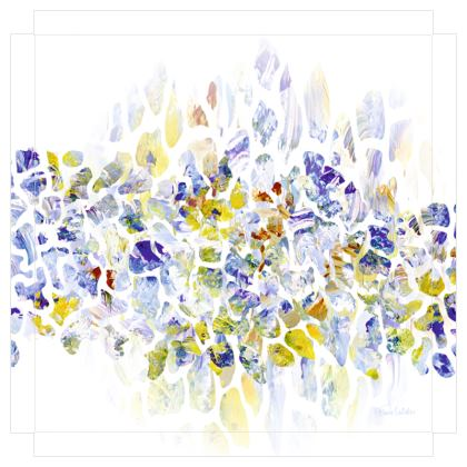 New Beginnings Canvas Print. Size 50cm x 50cm