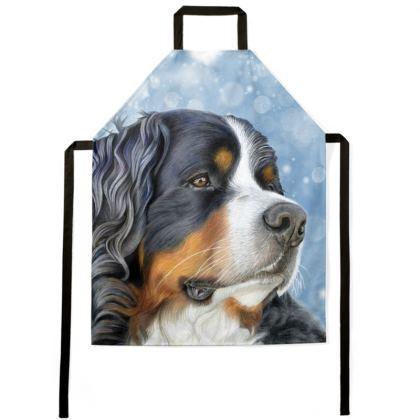 Bernese Mountain Dog Apron - Regal