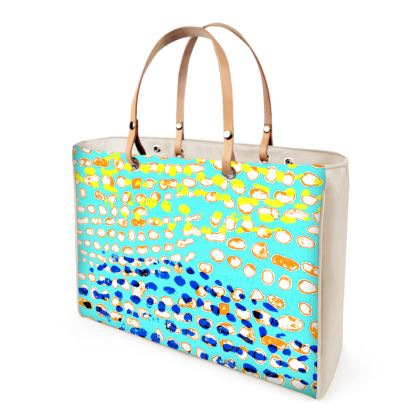 Textural Collection multicolored Handbag