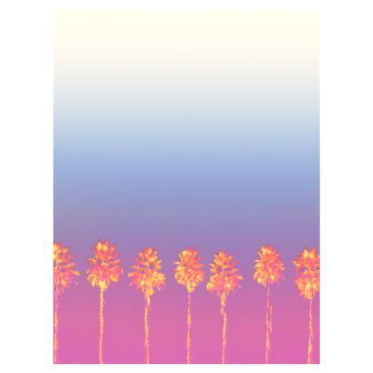Palm Trees Collection Double Deckchair