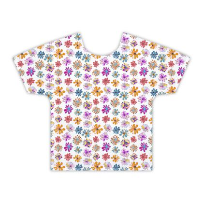 Rainbow Daisies Collection Kids T Shirt