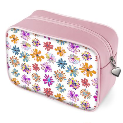 Rainbow Daisies Collection Wash Bag