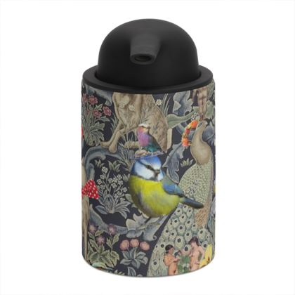And Another Thing Blue Tit Soap Dispenser