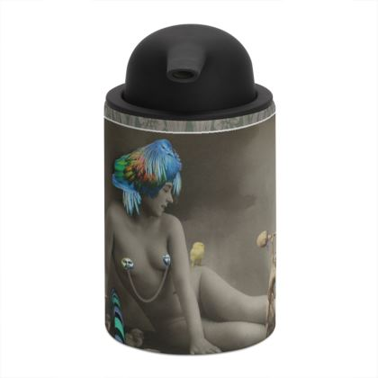 The Showgirl and the Strongman Soap Dispenser