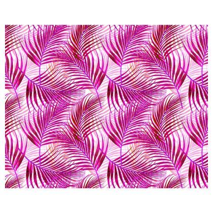 Tropical Garden in Magenta Collection Kimono