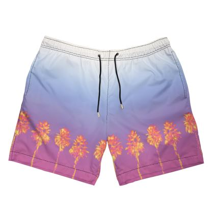 Palm Trees Collection Mens Swimming Short