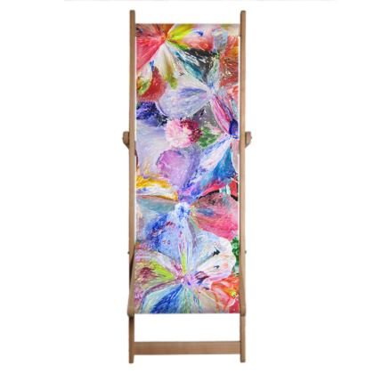 Deckchair Sling,  Summer Pop - Flowers in motion .2