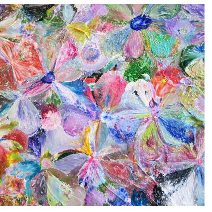 Deckchair Sling,  Summer Pop - Flowers in motion