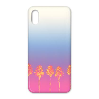 Palm Trees Collection iPhone X Case