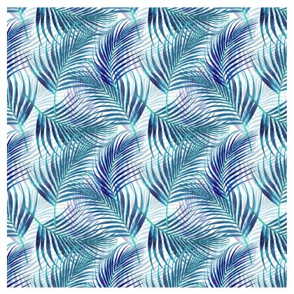 Tropical Garden in Blue Collection Occasional Chair