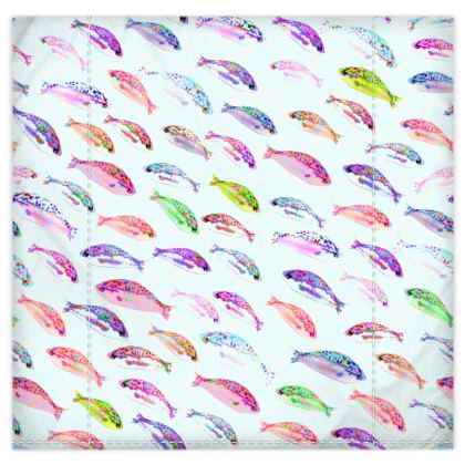 Tropical Fish Collection Duvet Cover