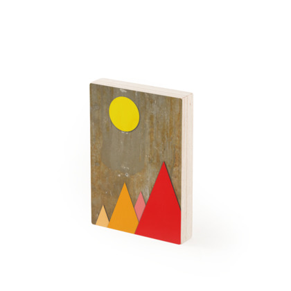 PEAKS BY DAY, Wood Prints
