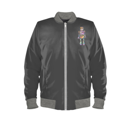 'Colin the Robot' Bomber Jacket