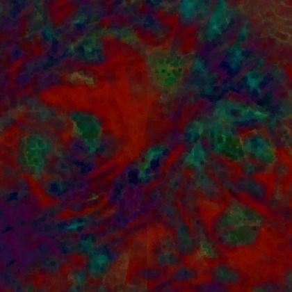 Red Multi-toned Slim Fit Mens T-Shirt.  XS - 7XL.   Copyright 2018 Joanne Shaw.