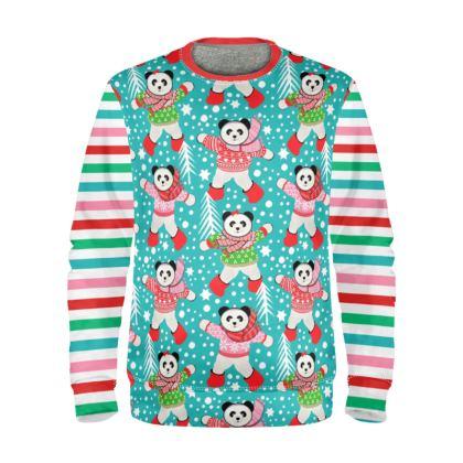 Panda Christmas Jumper
