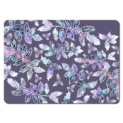 Large Placemats - Holly Madness