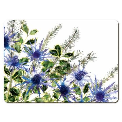 Large Placemats - Holly Bouquet
