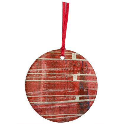 Christmas Ornaments -  The  Whoosh of Santa for your tree