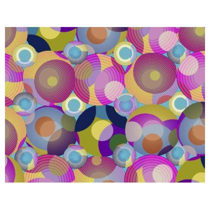Moon Collection on blue Handbag