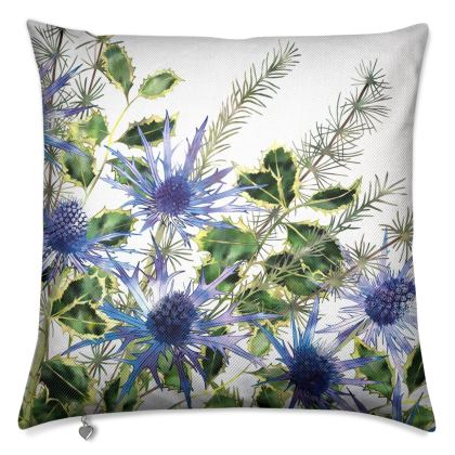 Holly Bouquet Luxury Cushion
