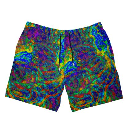 Mens Swimming Shorts.   Sizes XS - 4XL.  Copyright 2018 Joanne Shaw.