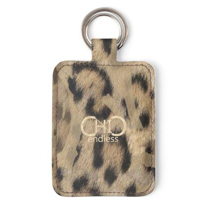 endlessChiC Animalier Leather Keyring