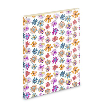 Rainbow Daisies Collection Pocket Note Book