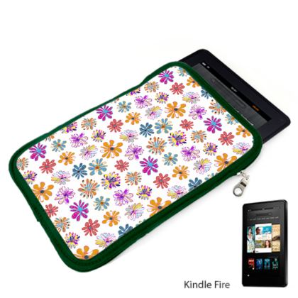 Rainbow Daisies Collection Kindle Case