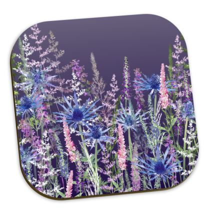 'Fairytale Dusky Meadow' Coaster Set