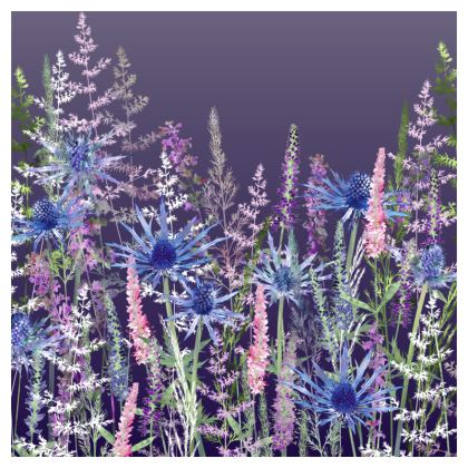 'Fairytale Dusky Meadow' Coasters