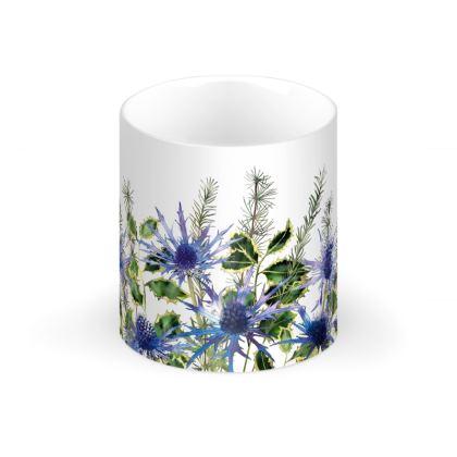 Holly Bouquet Regular Bone China Mug