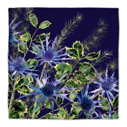Midnight Holly Bouquet Napkins