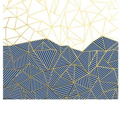 Ab Half and Half Navy Skirt
