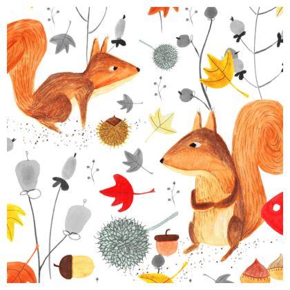 Pattern #64 - Autumn woodland squirrels