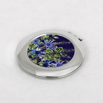 Midnight Holly Bouquet Compact Mirror £15.00
