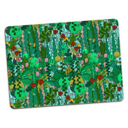 Pattern #91 - Tropical Emerald Forest