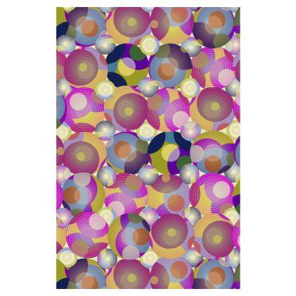 Moon Collection on cream Slip Dress