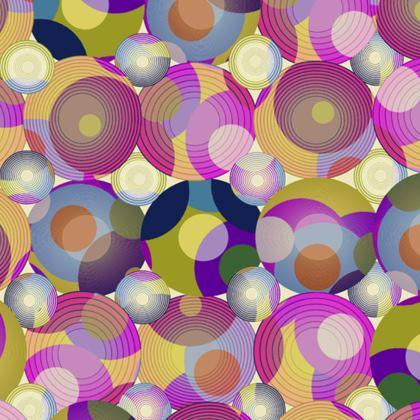 Moon Collection on cream Handbag