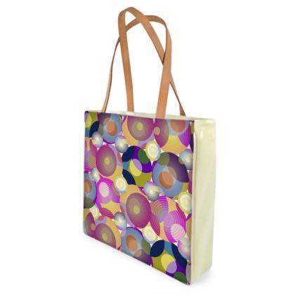 Moon Collection on cream Shopper Bag